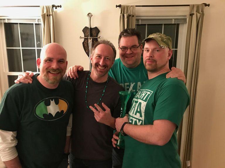 The Rockadudes - Brian, Jason, Jimmy K, Colby
